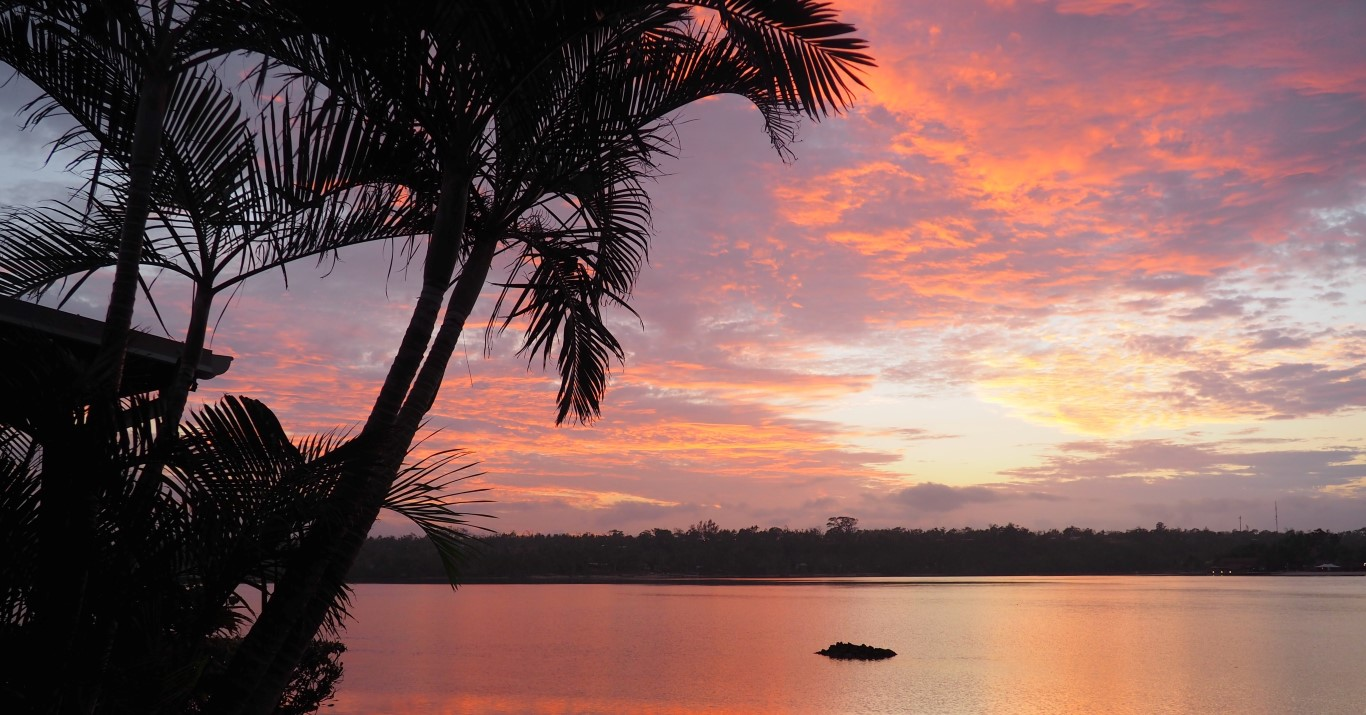 Sunrise over Erakor Lagoon