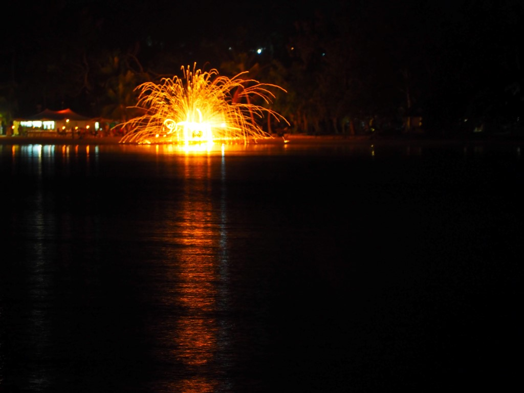 Fire Dancers on Erakor Island