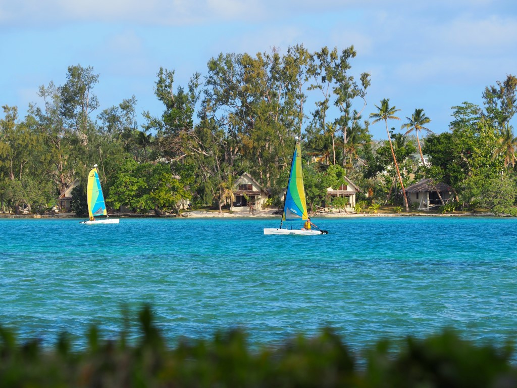 Sailing on Erakor Lagoon